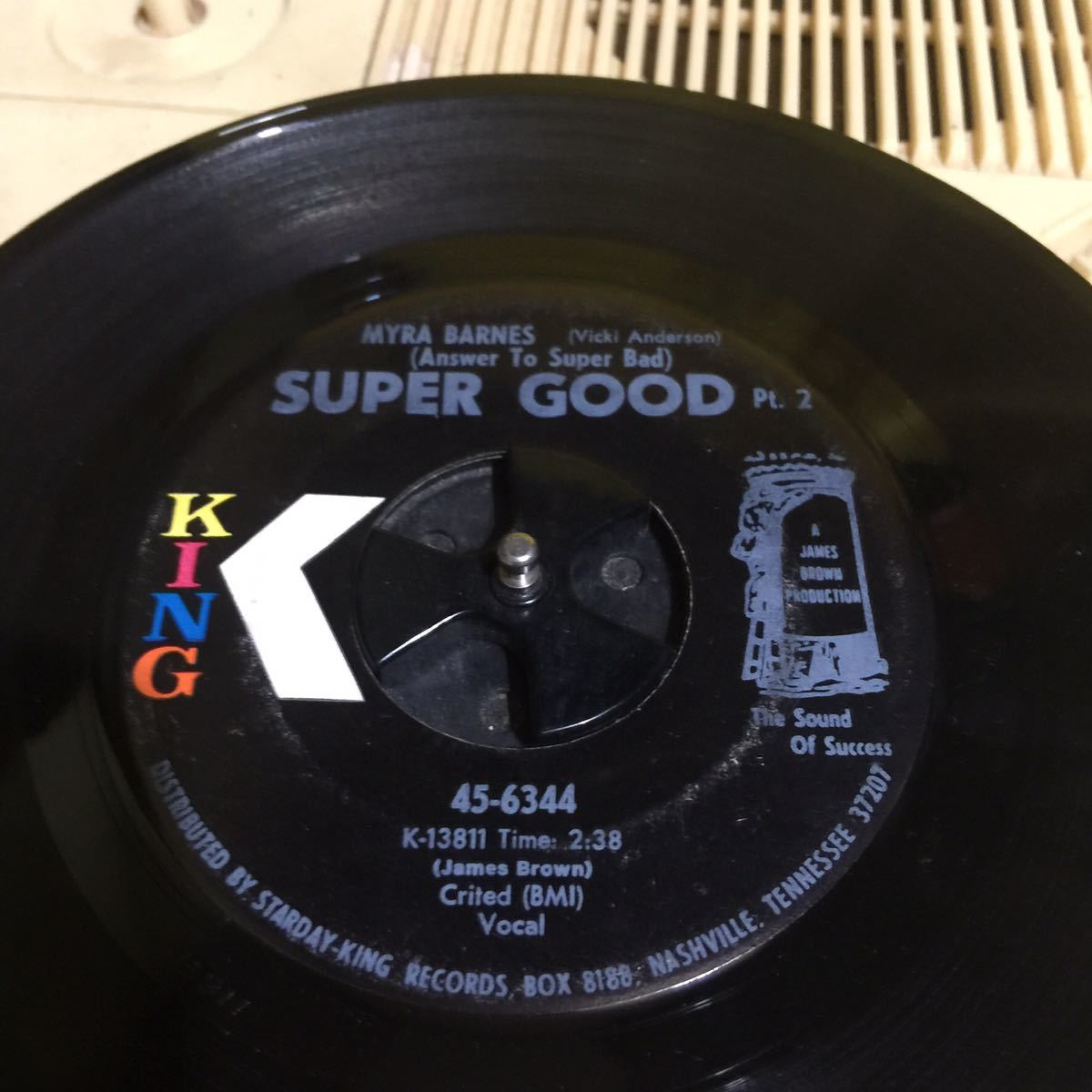 VICKI ANDERSON 代表曲 JAMES BROWN - SUPER BAD のアンサー・ソング hiphop大ネタ BIZ MARKIE FAMILY TREEネタ