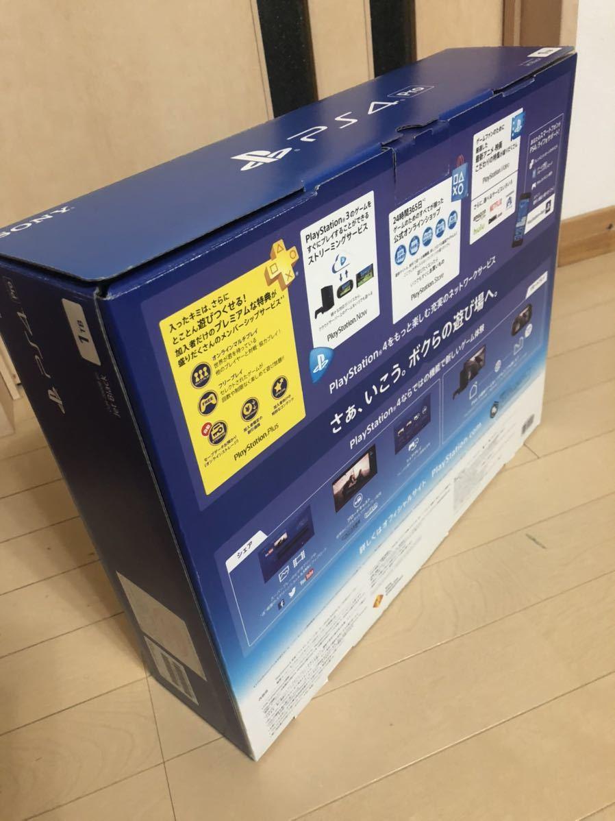 PlayStation4 Pro ジェット・ブラック 1TB プレステ4Pro プレステ4 Pro 1TB CUH-7000BB01 SONY PS4 Pro PlayStation 4 Pro 送料込み