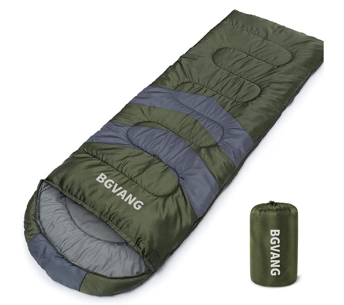 寝袋 封筒型 軽量 保温 防水 コンパクト 登山 防災用 簡単収納 丸洗い可能