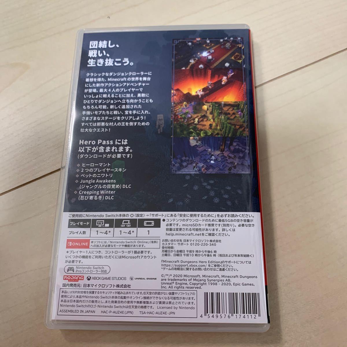 Switch マイクラ ダンジョン