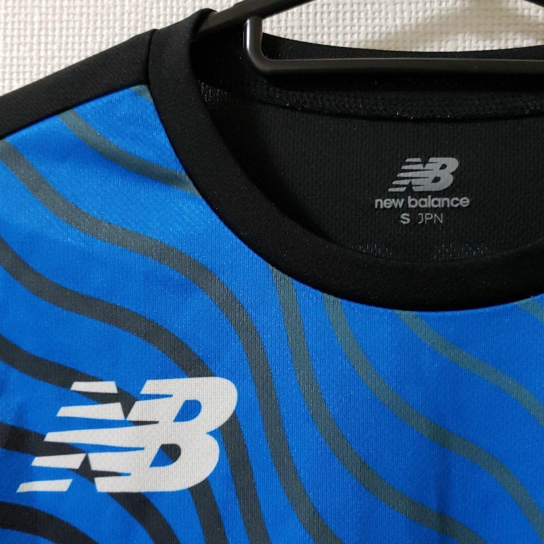 ニューバランス 半袖 マラソン ランニング シャツ Sサイズ ジム スポーツ