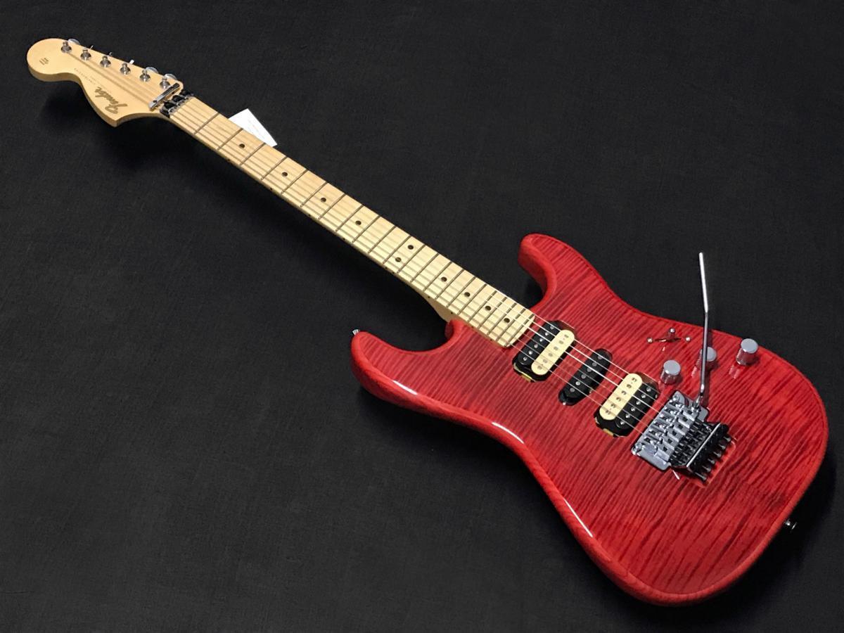 新品 Fender Michiya Haruhata Stratocaster Trans Pink #JD20016347