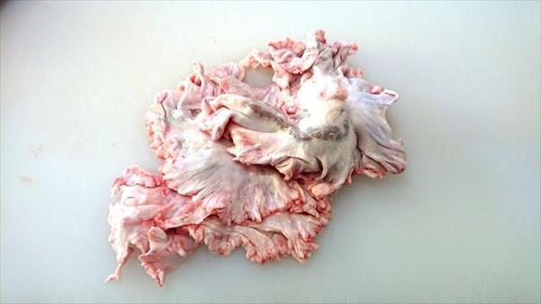 送料込み!!☆ご家庭で大トロホルモン超希少北海道産豚のきく脂1.0kg きくあぶら 串料理 国産豚 キク脂 菊脂(キクアブラ)プリプリ!!☆_使いやすい1.0kgからお届けします。