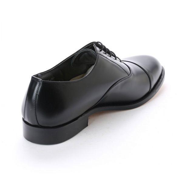 【宮城興業】【リーガル 外注工場】【レザーソール】紳士靴 革靴 メンズ ビジネスシューズ ストレートチップ 6202 ブラック 黒 24.0cm