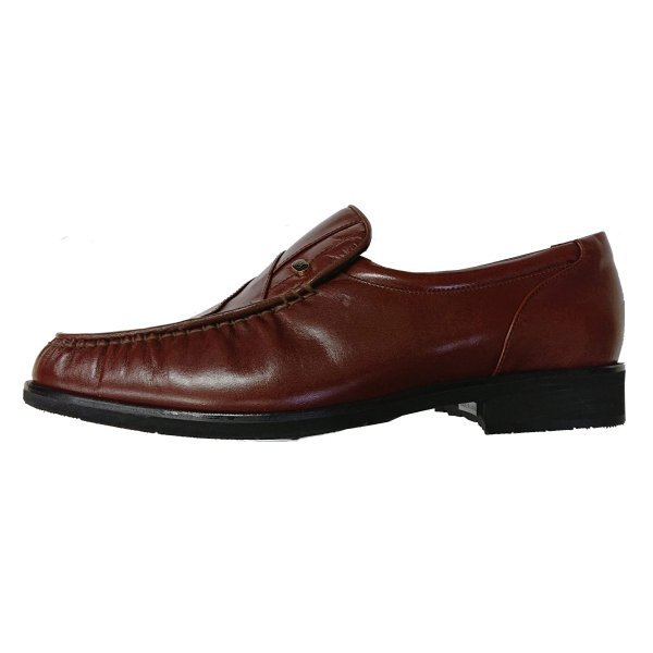 【アウトレット】【安い】【カンガルー革】【日本製】メンズ ビジネスシューズ モカシン 紳士靴 革靴 492 ブラウン 茶 26.5cm