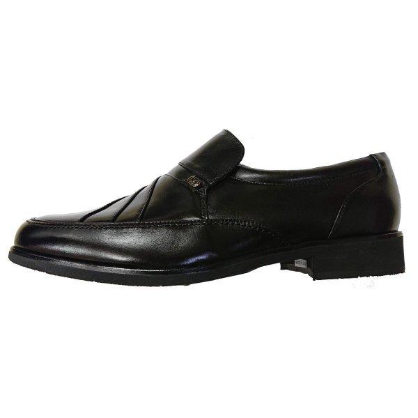 【小さいサイズ】【安い】【カンガルー革】【日本製】メンズ ビジネスシューズ スリップオン 紳士靴 革靴 491 ブラック 黒 24.0cm