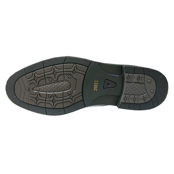 【アウトレット】【安い】【カンガルー革】【日本製】メンズ ビジネスシューズ スリップオン 紳士靴 革靴 491 ブラック 黒 26.5cm