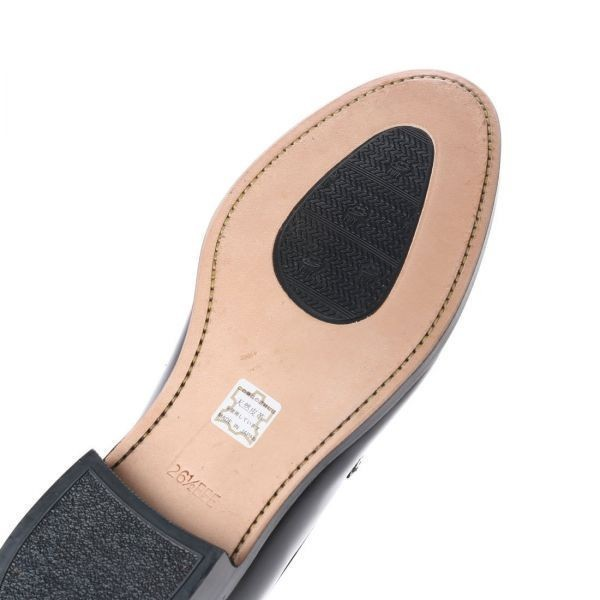 【アウトレット】【リーガル 外注工場】【レザーソール】紳士靴 革靴 メンズ ビジネスシューズ ローファー 5158 ブラック 24.0cm