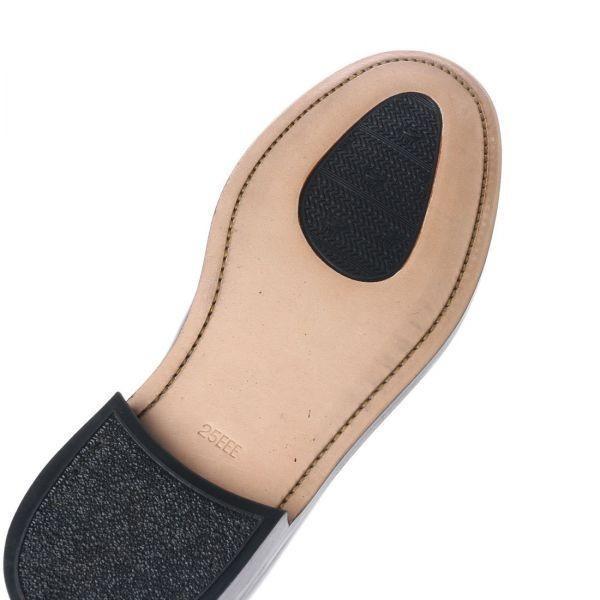 【アウトレット】【リーガル 外注工場】【レザーソール】紳士靴 革靴 メンズ ビジネスシューズ プレーントゥ 5155 ダークブラウン 25.0cm