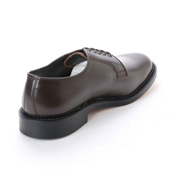 【アウトレット】【リーガル 外注工場】【レザーソール】紳士靴 革靴 メンズ ビジネスシューズ プレーントゥ 5155 ダークブラウン 26.0cm