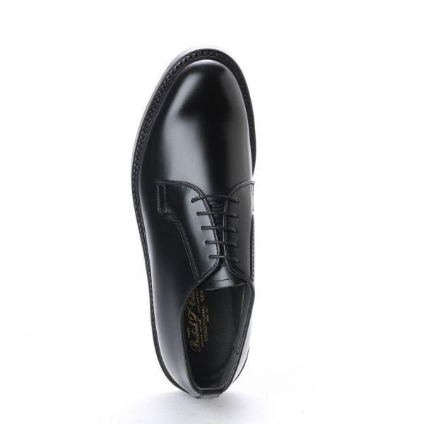 【アウトレット】【リーガル 外注工場】【レザーソール】紳士靴 革靴 メンズ ビジネスシューズ プレーントゥ 5155 ブラック 24.0cm