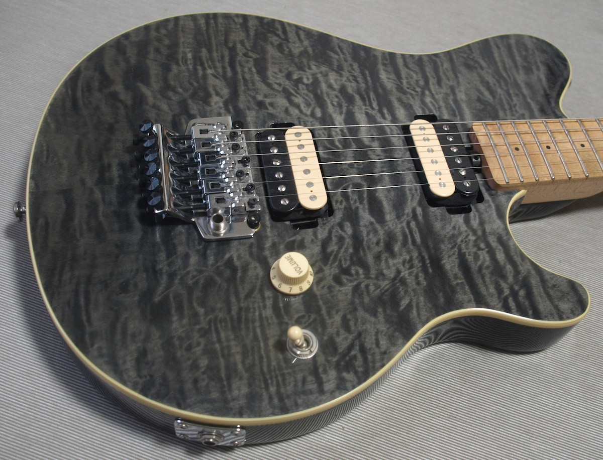 ♪ Sterling by Musicman AX40D TBK ♪ Dimarzio ピックアップ搭載 AXIS EVH wolfgang 5150