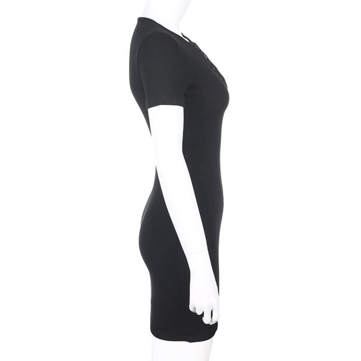 ニットワンピース エロかわ sexy タイトミニ ボディライン スカート 伸縮性