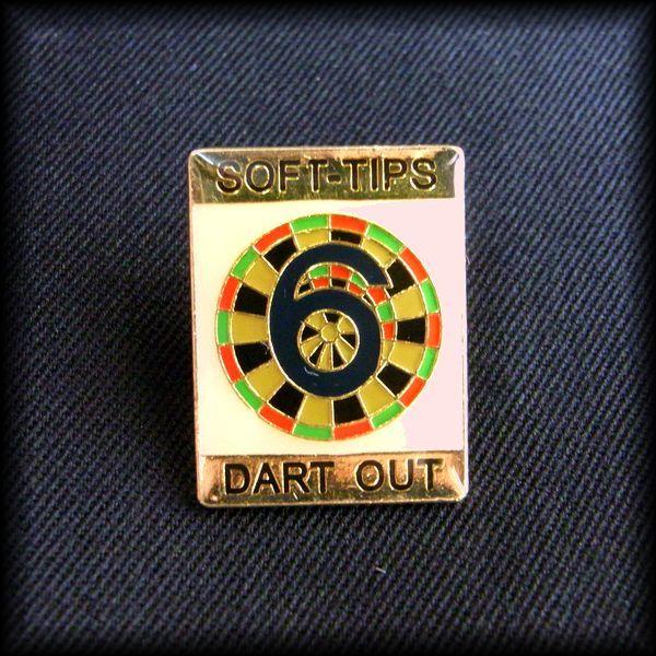 USA DARTS PIN ダーツ ピンバッジ No 40