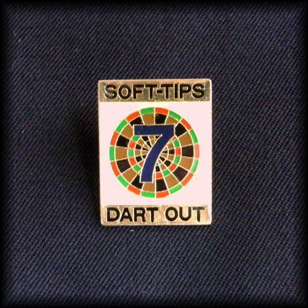 USA DARTS PIN ダーツ ピンバッジ No 41