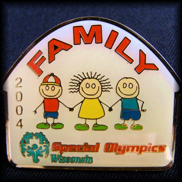 USA 2004 Special Olympics Wisconsin FAMILY PIN スペシャルオリンピックス ピンバッジ アメリカ No 48
