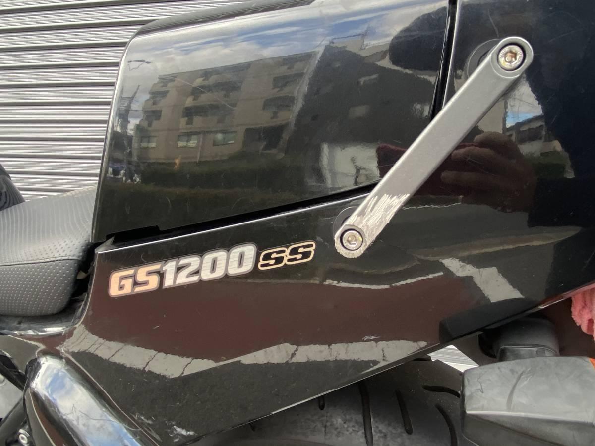 2001年式 gs1200ss gv78a 車検令和3年5月! 現状販売 シングルシート 名車 旧車_画像7