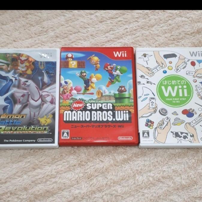 任天堂 Wii本体 Nintendo ソフト