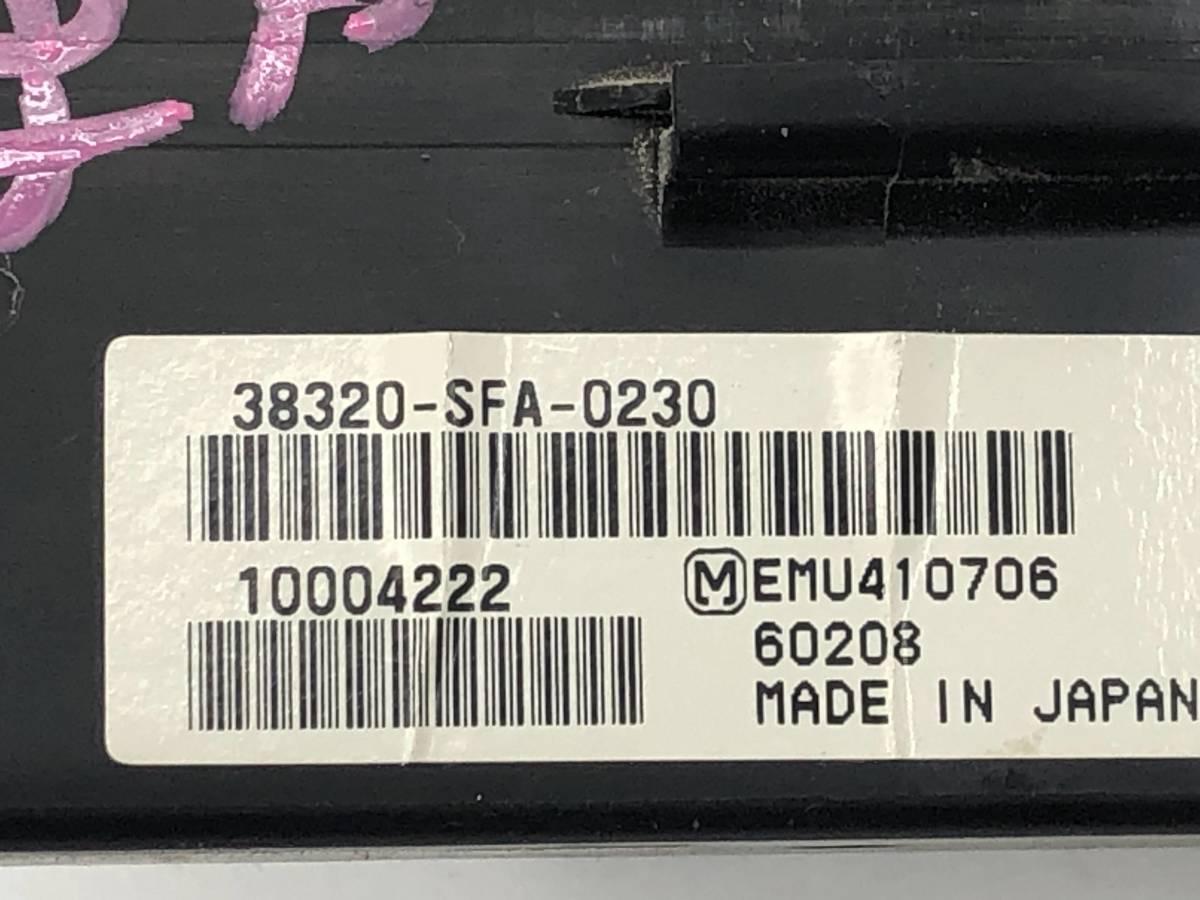 _b46896 ホンダ ライフ ディーバ DIVA ターボ DBA-JB7 スマートキー コントロール コンピューター 38320-SFA-0230 JB5 JB6 JB8 ゼスト JE1_画像4