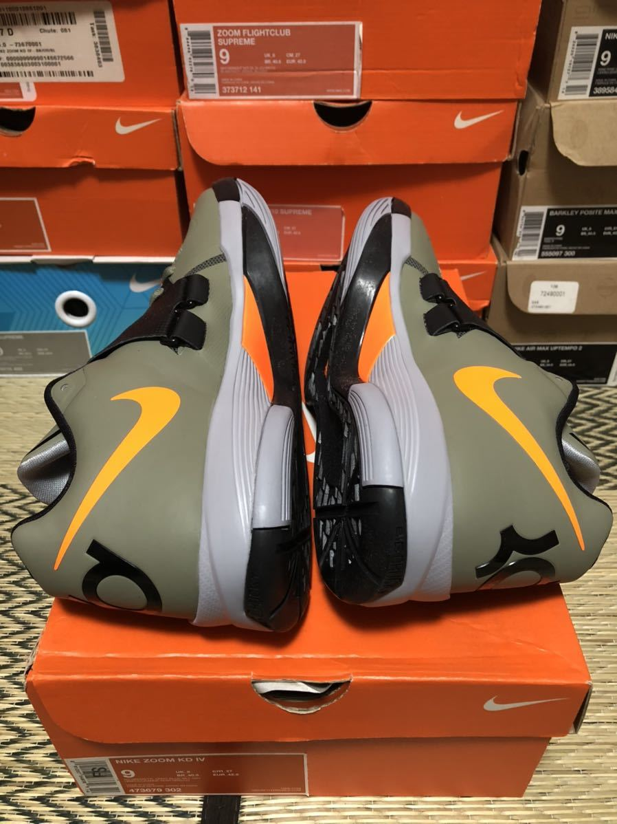 Nike Zoom KD4(ケビン・デュラント)Undftd us9(27cm)新品_画像4