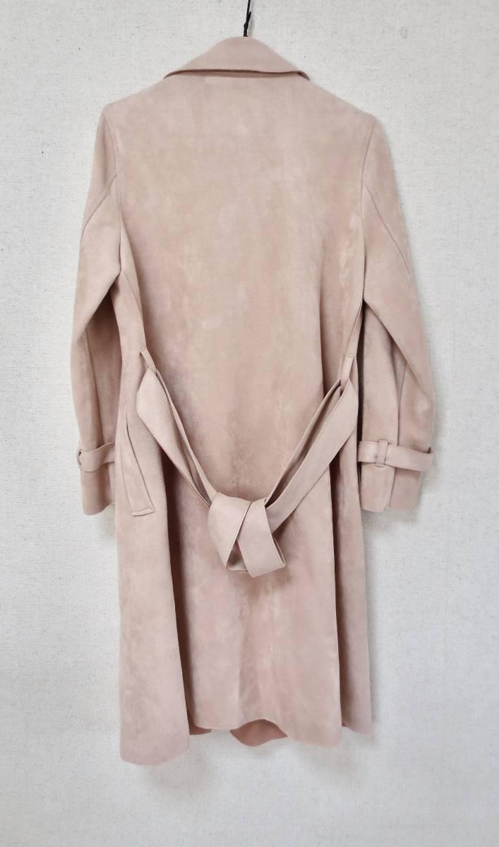 クロチェーラ crociera マーノガーメントコンプレックス MANO garment complex  フェイクスウェード コート_画像4