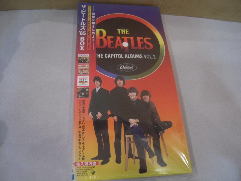 新品未開封: ザ・ビートルズ The Beatles「ザ・ビートルズ '65 BOX」輸入国内盤 4CD