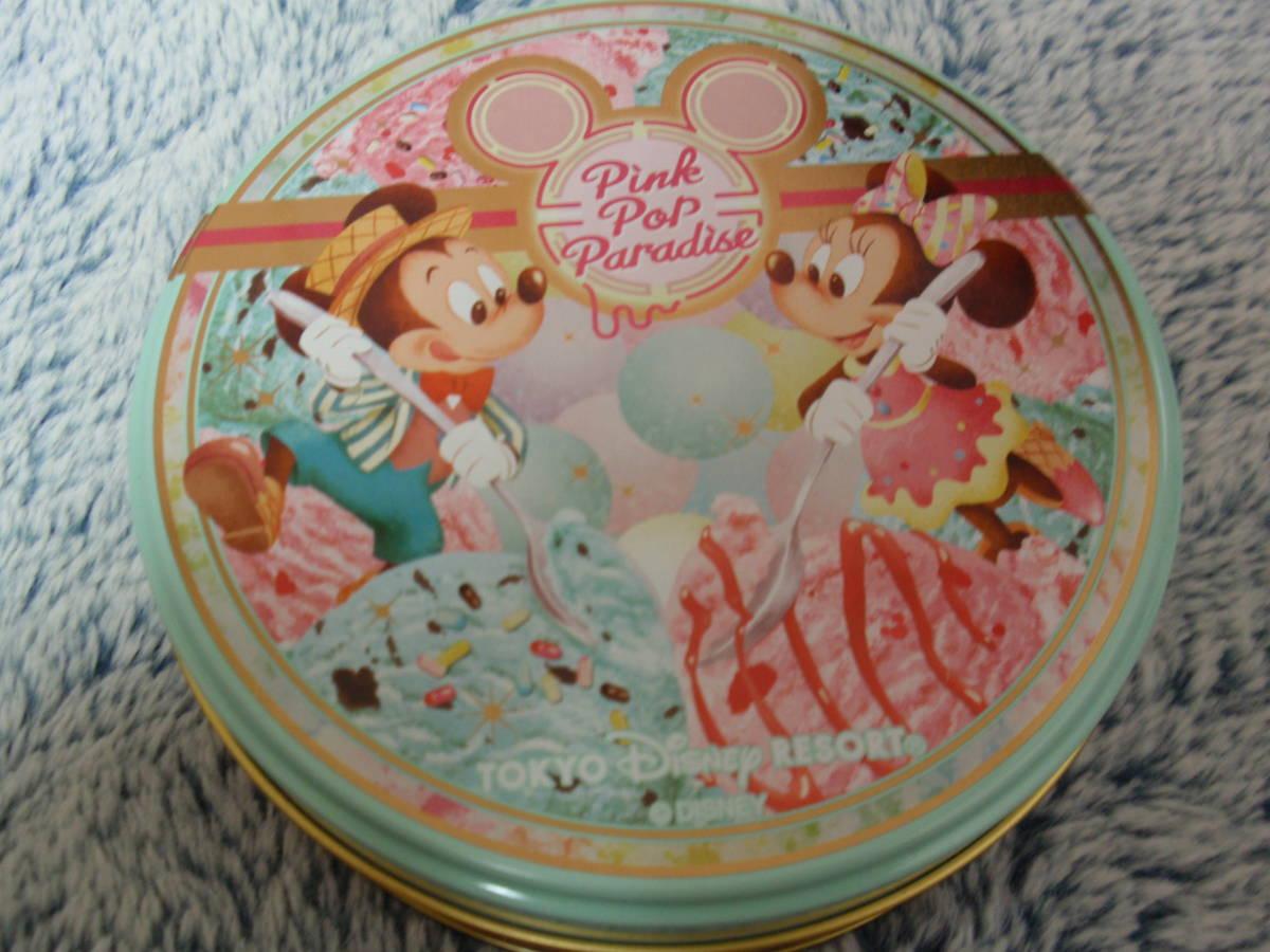 東京ディズニーリゾート チョコレート空き缶_画像1
