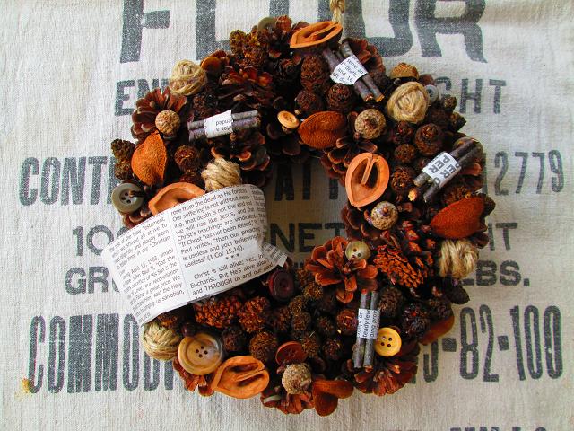 C*C 木の実セット3種 リース素材 松ぼっくり 胡桃 どんぐり帽子 ボタニカルアート ハーバリウム 植物標本③_画像5