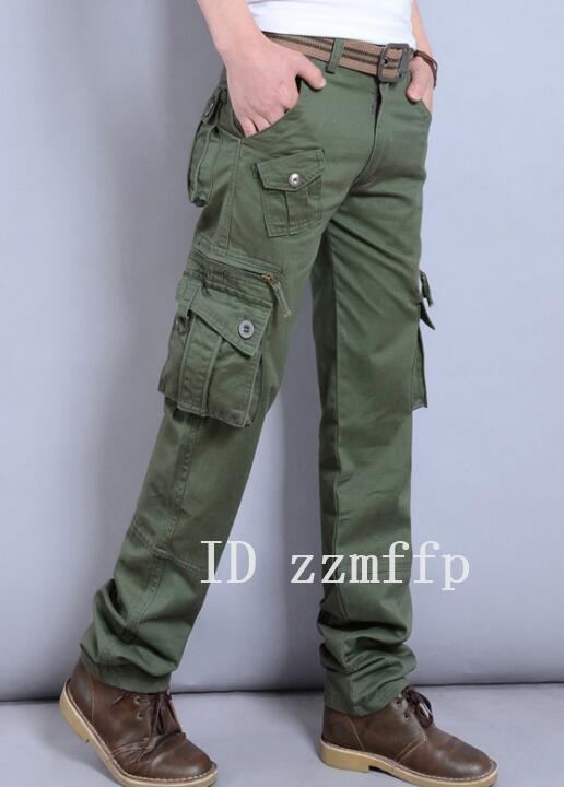 カーゴパンツ メンズ ミリタリーパンツ ワークパン チノパン ポケット 作業着 大きいサイズW28~W40/20/oqv/13_画像5