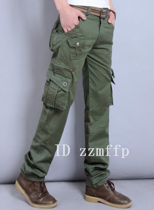 カーゴパンツ メンズ ミリタリーパンツ ワークパン チノパン ポケット 作業着 大きいサイズW28~W40/20/oqv/13_画像4