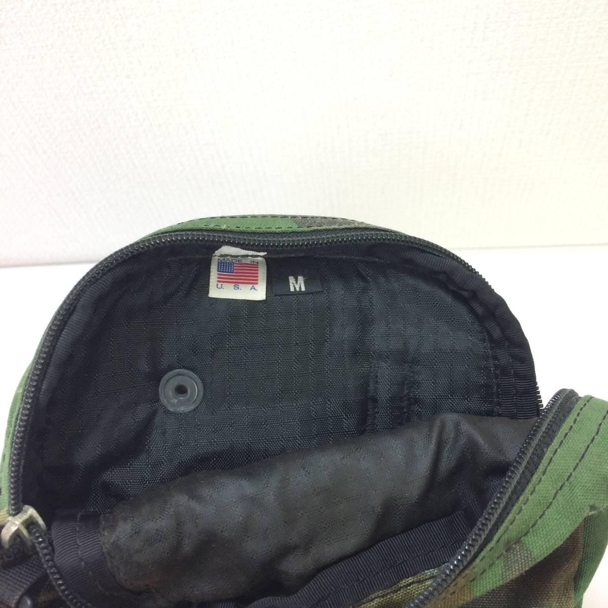 USA製 グレゴリー クイックポケットM 迷彩 カモフラ ウッドランドカモ ショルダーポーチ ポシェット