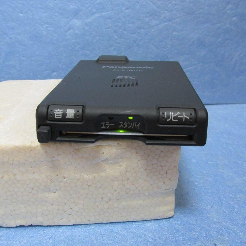【普通車登録】パナソニック製 CY-ET807D アンテナ一体型ETC 【USB、シガープラグ対応】_画像1