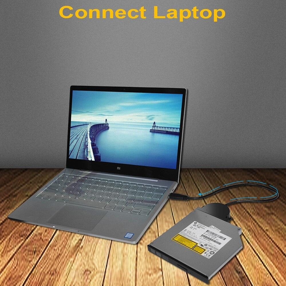 Deepfox usb 3.0 sata 3 ケーブルcd/DVD-ROMドライブケーブル光学ドライバラップトップpcノートブック_画像4