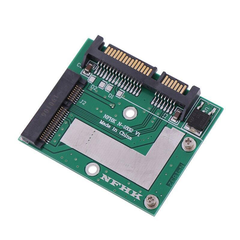 Msata ssd 2.5インチsata 6.0gpsアダプタコンバータカードモジュールボードミニpcie ssd_画像3