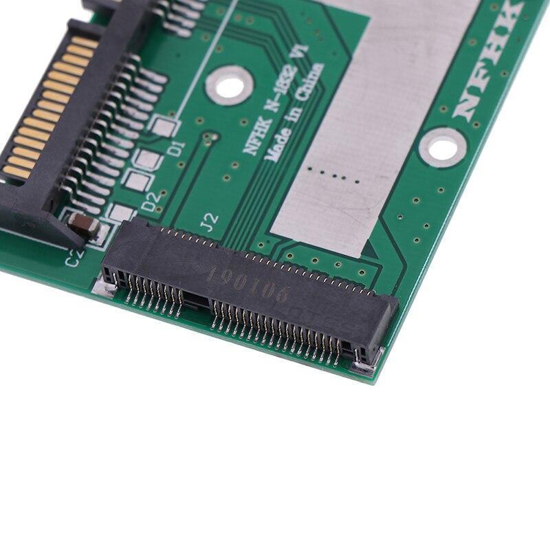 Msata ssd 2.5インチsata 6.0gpsアダプタコンバータカードモジュールボードミニpcie ssd_画像5