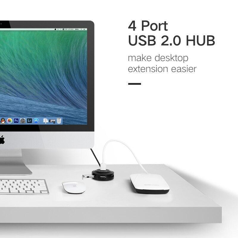 Ugreen usbハブ4ポートusb 2.0 3.0スプリッタミクロでimacノートパソコンのアクセサリーのusb充電ポートotgハブusb_画像2