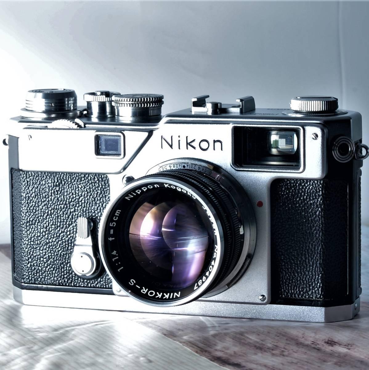 ★☆希少!完動美品! Nikon ニコン S3 隠れた名レンジファインダー!無駄を削ぎ落とした美しさ!満たされる所有欲!透き通った視界♪☆★