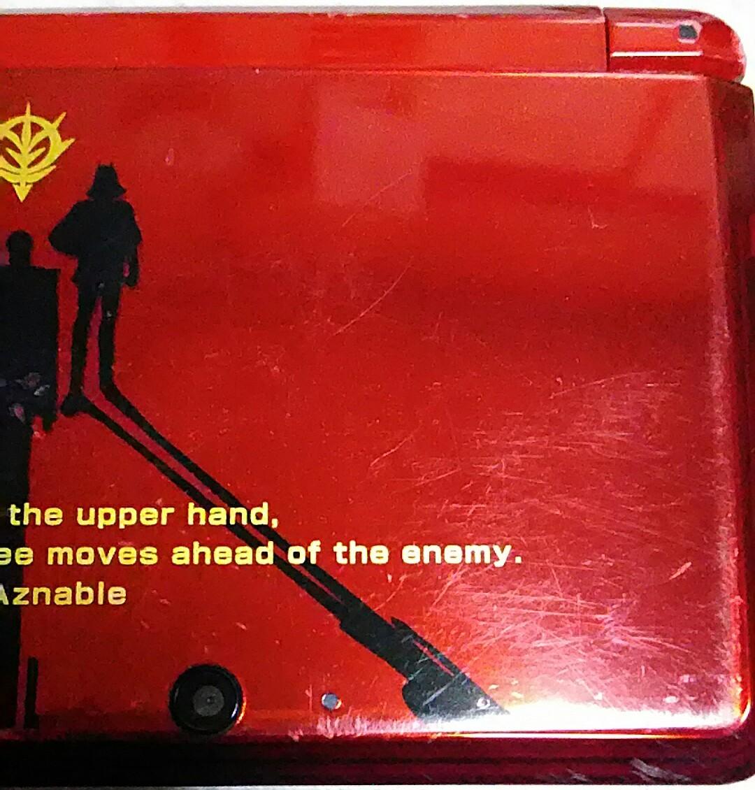 ニンテンドー3DS SDガンダム Gジェネレーション3D PREMIUM BOX シャア専用 限定モデル 中古品 充電器 タッチペン SDカード付き 送料無料