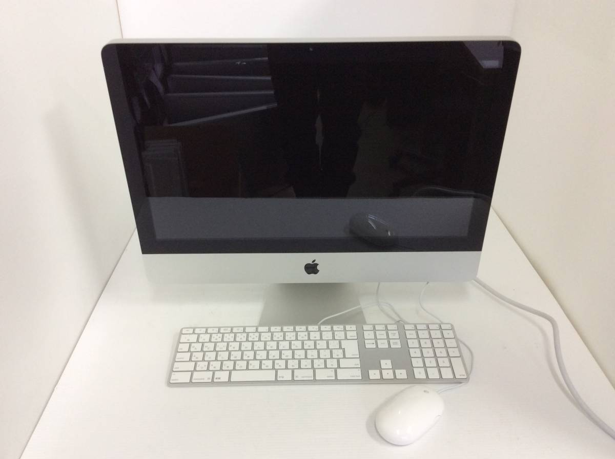Apple iMac A1311 (21.5-inch, Mid 2010) /Intel Core i5-680 3.60GHz/4GB/1TB R300_画像1