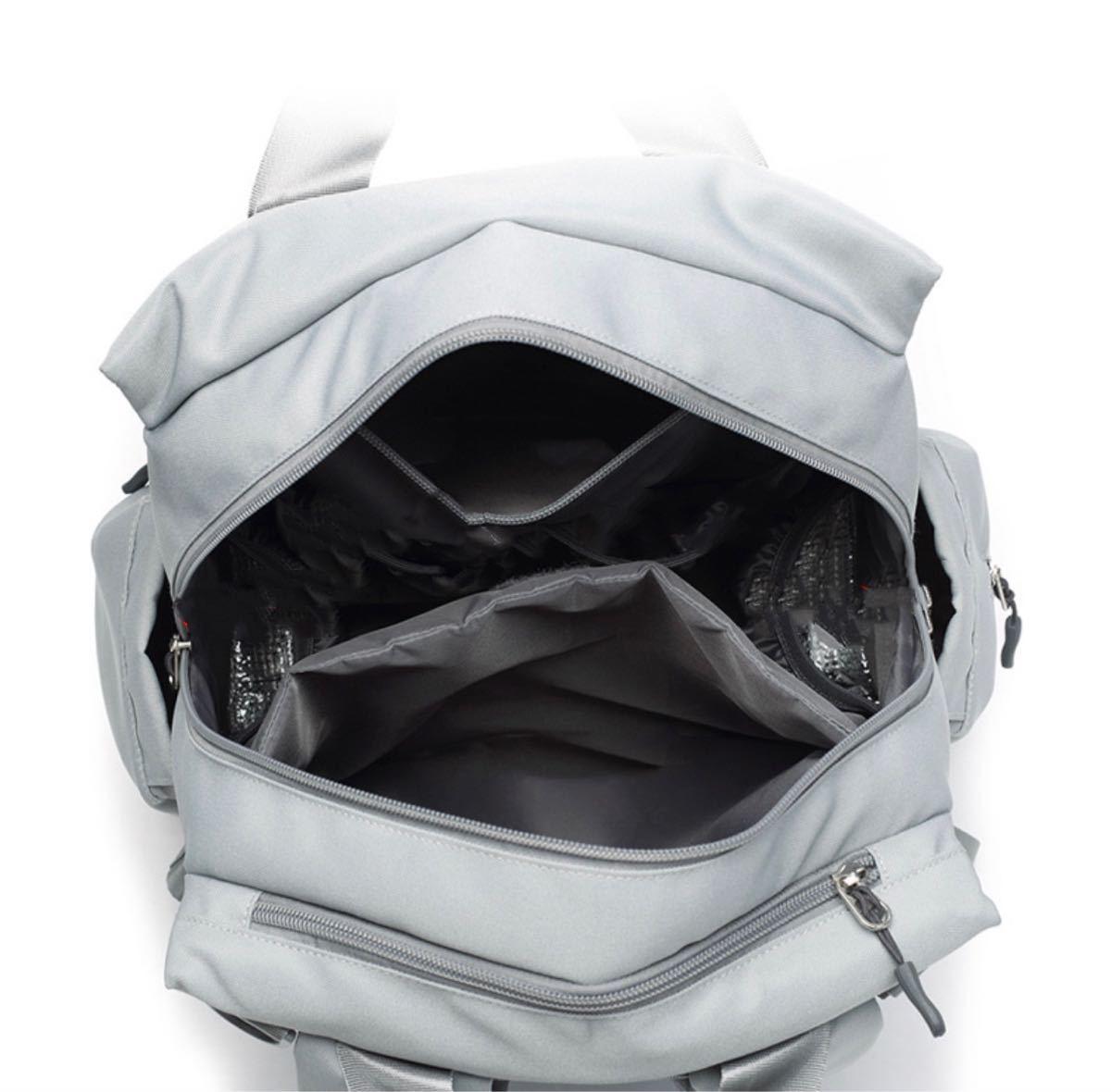 多機能トットバッグ マザーズバッグ 大容量リュックサック 3way 保温ポケット