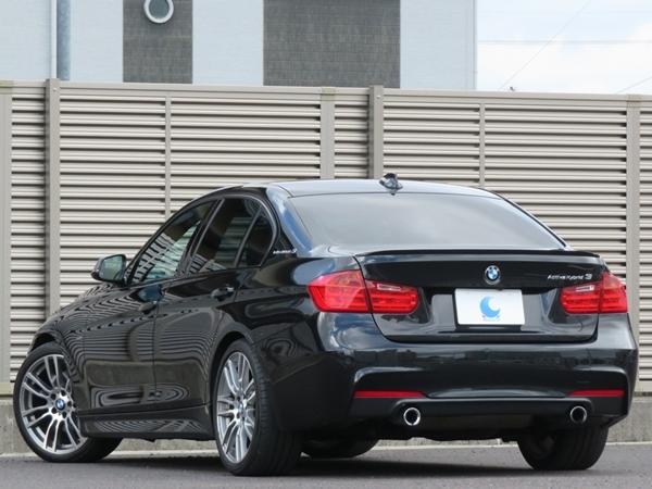 BMW アクティブハイブリッド3 Mスポーツ 機関良好/修復歴無し/車検R3年9月【Mスポーツ19AW&エアロ/ベージュ革/ナビ/TV/USB//Bカメラ/ETC】_小傷程度で目立つ箇所は無く綺麗な状態です
