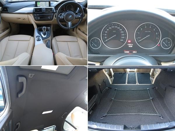 BMW アクティブハイブリッド3 Mスポーツ 機関良好/修復歴無し/車検R3年9月【Mスポーツ19AW&エアロ/ベージュ革/ナビ/TV/USB//Bカメラ/ETC】_お問い合わせTEL:0586-82-0288