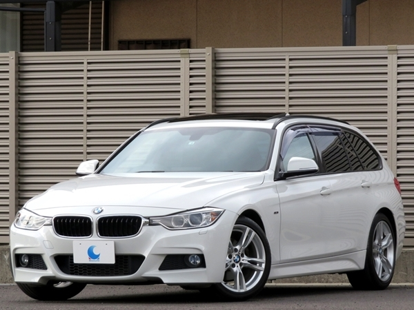 「BMW 320dブルーパフォーマンス ツーリング Mスポーツ 内外美車/修復無し/車検R3年9月【サンルーフ/ナビ/ブルートゥース/USB/ETC/Bカメラ】」の画像1