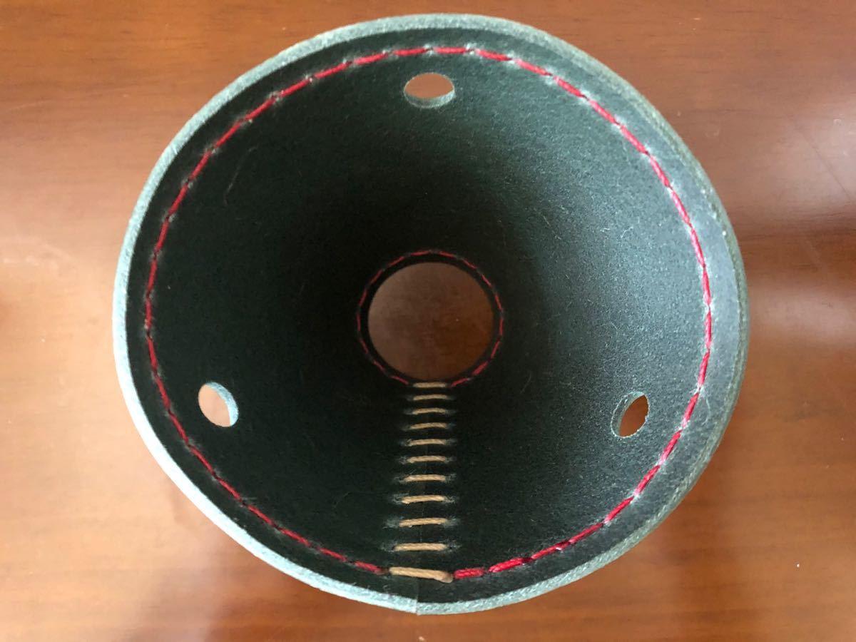 ラージサイズ セミオーダー ダブルバット タープ 連結 手縫い本革
