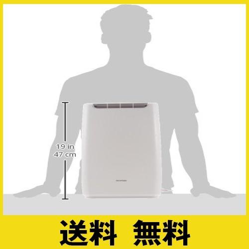 ホワイト ホワイト アイリスオーヤマ 衣類乾燥コンパクト除湿機 タイマー付 静音設計 除湿量 2.0L デシカント方式 DDB-_画像8