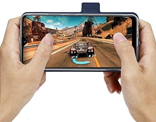NUPO ドコモ Galaxy A21 SC-42A ケース PUレザー素材 手帳型 カバー 全面保護 ストラップ付 カード収納_画像6