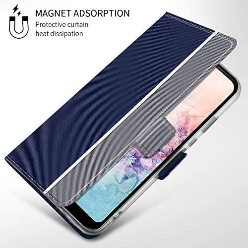 NUPO ドコモ Galaxy A21 SC-42A ケース PUレザー素材 手帳型 カバー 全面保護 ストラップ付 カード収納_画像4
