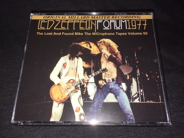 Empress Valley系 ★ Led Zeppelin -「Forum 1977」The Lost And Found Mike The MICrophone Tapes Volume 50 プレス3CD_画像1