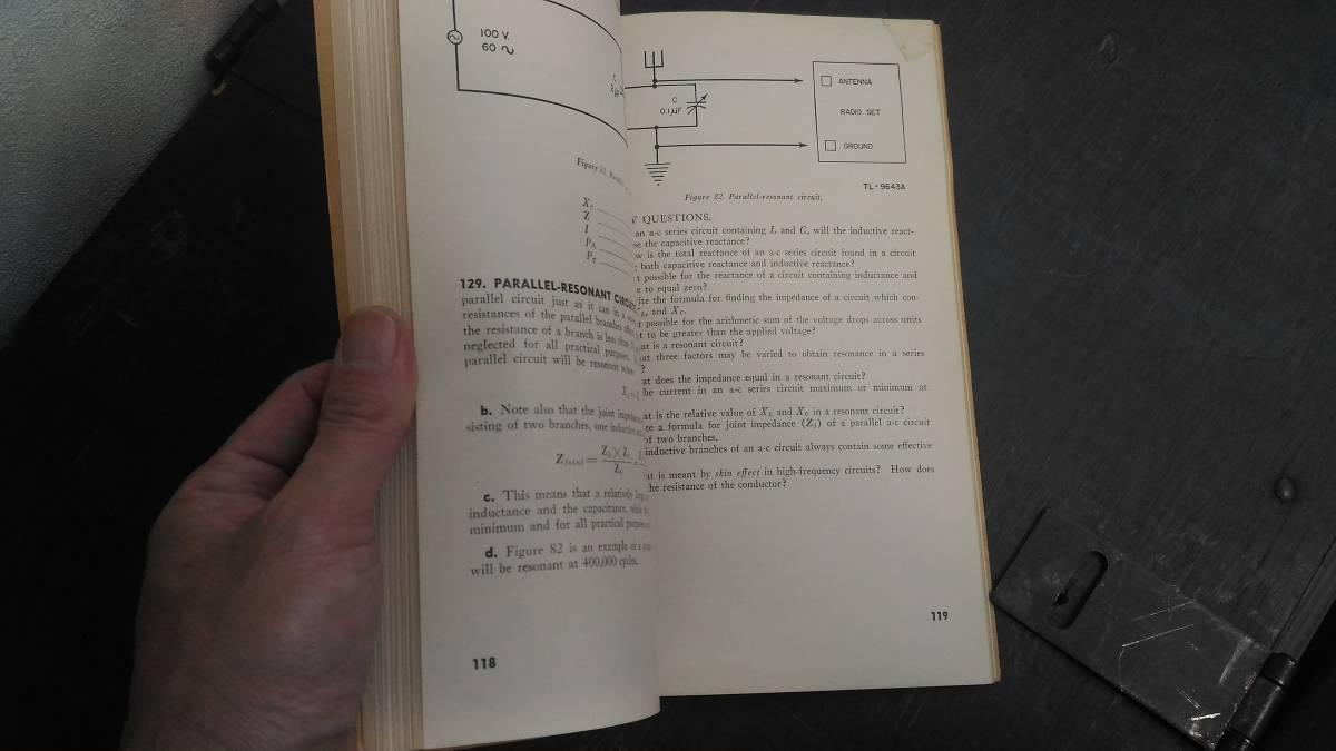 WWII 米軍 技術教範「TM 1-455」電気基礎学 1944年版_画像4