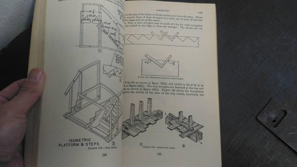 WWII 米軍 技術教範「TM 5-226」大工基礎 1943年版_画像3